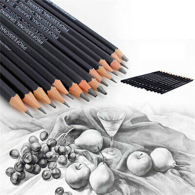 14pcs/set Black Wood Drawing Sketch Pencils Pencil Art Craft Painting Gift