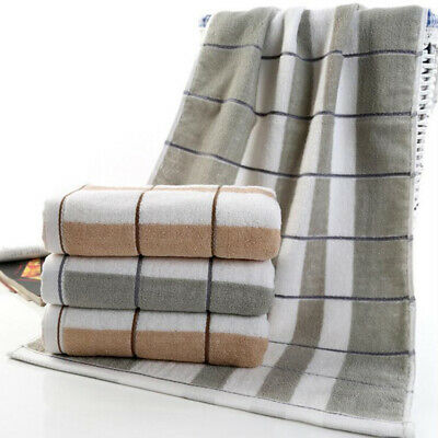 Fashion Soft Cotton Durable Comfort Water Absorption Plaid Printed Towel ONE