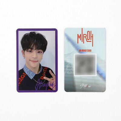 [STRAY KIDS] SKZ / Cle1 : MIROH Official Photocard / Purple Border - WOOJIN