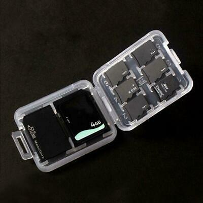 Memory-Card Storage Case Holder with 8 Slots for SD SDHC MMC MicroSD Cards Super