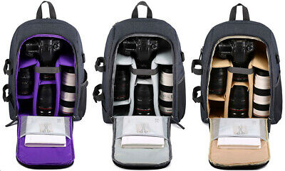 DSLR Camera Backpack Bag Photo Bag Waterproof Cover for Canon Nikon K&F Concept