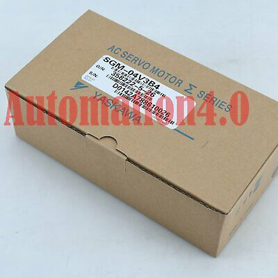 1PC New YASKAWA SERVO MOTOR SGM-04V3B4 One year warranty FREE EXPEDITED SHIPPING