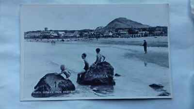 Vintage postcard,North Berwick,West Bay, East Lothian, 1930s,non posted
