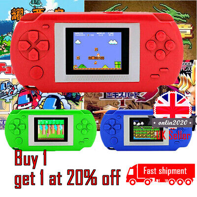 UK Portable Retro Mini Handheld Video Game Console Built in 268 Classic Games ON