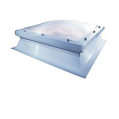 Mardome Rooflight TRADE Dome -Polycarbonate flat roof Skylight - various sizes
