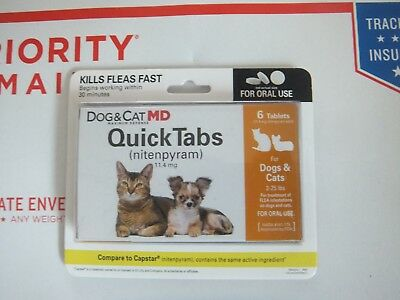 Dog & Cat MD QuickTabs  Oral Tablets 6 count for Dogs & Cats 2-25 lbs