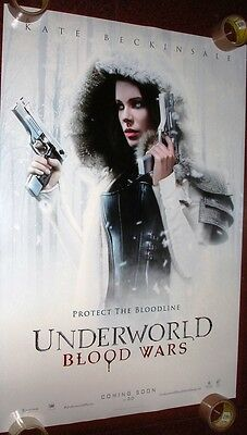 Underworld:blood Wars Kate Beckinsale 27 X 40 Ds Poster Double Sided