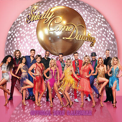 Strictly Come Dancing Official 2019 Wall Calendar - New & Sealed - FREE P&P