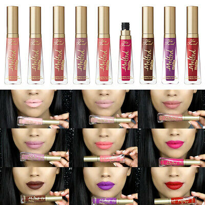 Pintalabios Too Faced MELTED Matte Lipstick Labiales Permanentes color duradero