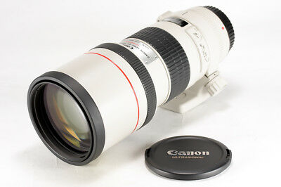 Canon EF 300mm f/4 L USM Telephoto Lens Non IS from Japan << Excellent >> 9516