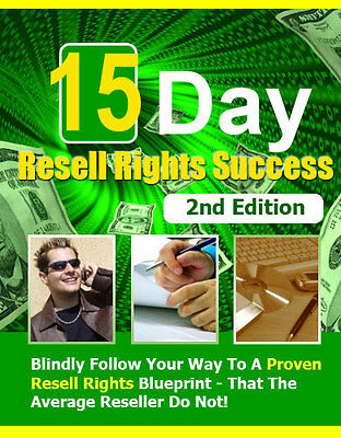 15 Day Resell Rights Success PDF eBook With Resale rights