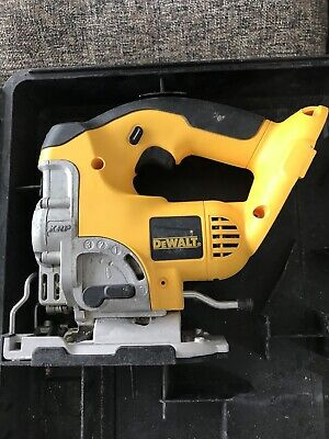 DEWALT 18V DW933 CORDLESS JIGSAW BODY ONLY With Charger And Case