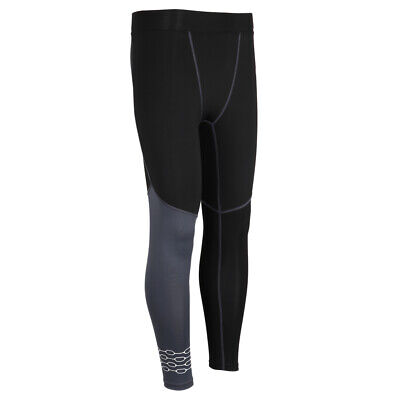 b94d66ea2e3e40 Men's Sports Compression Cool Dry Pants Workout Tights Running Base Layer