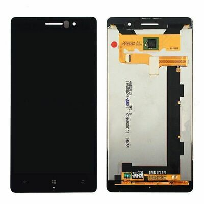 Per il Nokia Lumia 830 LCD Touch Screen Digitizer Assembly Nero REL02