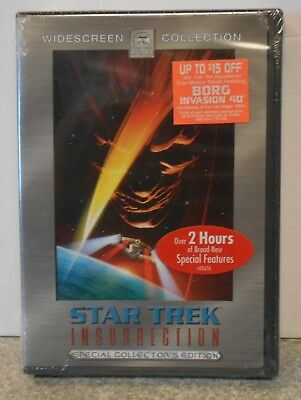 Star Trek: Insurrection (DVD 2005 2-Disc Special Collectors Edt) RARE BRAND NEW