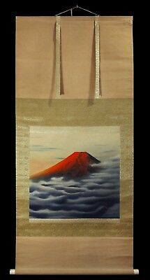 Showa Era (1926-1989) - Mount Fuji / Beautiful Japanese Hanging Scroll