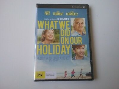 What We Did On Our Holiday - BRAND NEW & SEALED - DVD (Region 4) - Free Postage