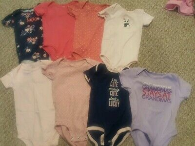 18 Month Baby Girl Carters/Old Navy Bodysuits