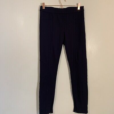 XOXO Womens Black Mid Rise Stretch Straight Leg Dress Pants Size Medium