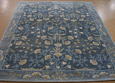 9 X 12 Pottery Barn Adeline Blue Persian Style New Hand