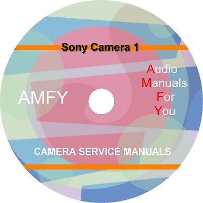 SONY SERVICE MANUALS, owners manuals and schematics on 1 dvd, Disc
