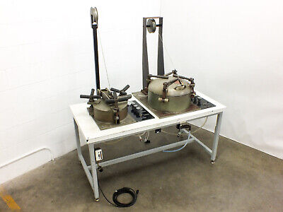 Chemtron Vacuum Pot Chamber w/ Tube-Turns T-Bolt Closures