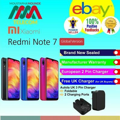 Xiaomi Redmi Note 7 Brand New Sealed Factory Unlocked Global Version