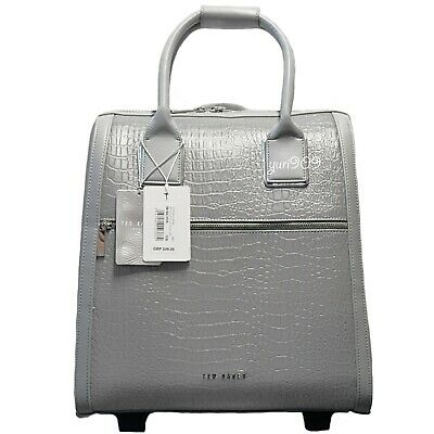 40077e78a Ted Baker Cressa Reflect Roll Two Wheel Carry On Weekend Travel Bag