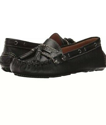 NWOB Patricia Nash Domenica Driving Loafer Oxford Blue Womens 7M Italian Leather