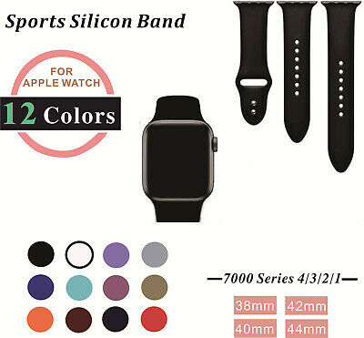 Replacement Sport Watch Band Strap for Apple Watch iWatch Series 1/2/3/4 S/M M/L