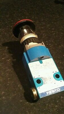 Festo 10190 Emergency Stop Valve Svs-3-1/8  Seller Refurbished Product
