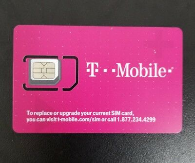 Preloaded Prepaid $75 T-Mobile ONE Unlimited 4G LTE(Mex & Canada incl)+FREE GIFT