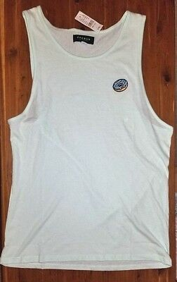 e833becb1d6 Men's PacSun Glazed Donut Tank Top Light Green Mint Funny Humor Trendy  Medium