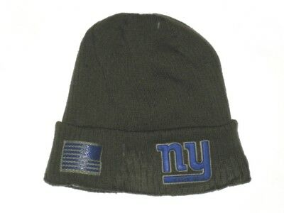 online store 1d269 d0911 Alex Tanney 2018 Player Issued New York Giants  3 Salute To Service New Era  Hat