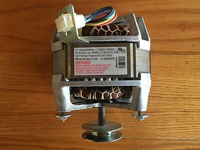 OEM Genuine GE Hotpoint Washer Motor 1 Speed PSC 1/2 HP WH20X10063