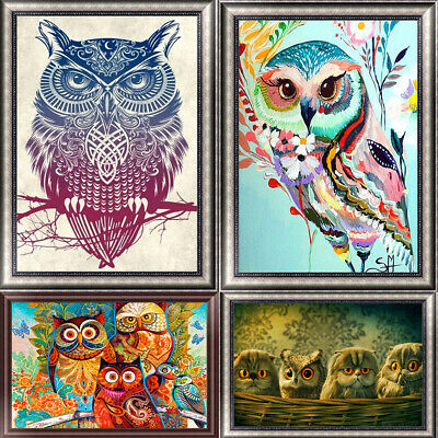 Art Owl DIY 5D Diamond Painting Kitten Cross Stitch Kits Home Decor