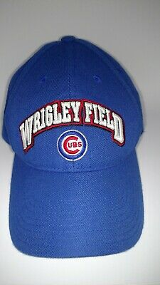 34ce9249183 AMERICAN NEEDLE CHICAGO Cubs United Slouch Adjustable Hat Ivory Blue ...