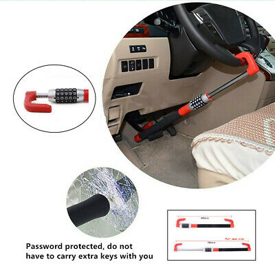 Anti Theft Stable DurableCar Steering Wheel Car Van Security Device Clutch Lock