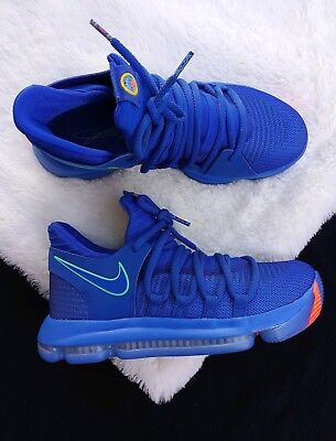 a1e88d7357f9 7 YOUTH Nike Zoom KD10 City Edition Chinatown GS 918365-402 BLUE KEVINT  DURANT
