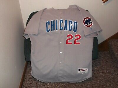 dff2a04b2a0 CHICAGO CUBS MARK Prior Road Jersey Sz XXL SZ 52 Majestic Authentic ...