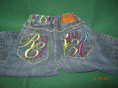 ROCAWEAR Baby Boys JEANS Size 18 mo DARK Blue  Cotton / Spandex