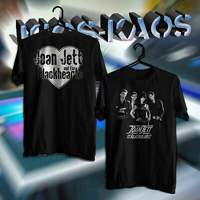 JOAN-JETT-AND-THE-BLACKHEARTS-logo-two-sides Männer Frau T-Shirttt