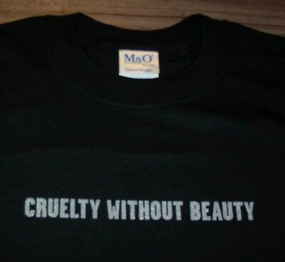 SOFT CELL Cruelity Without Beauty T-Shirt MENS LARGE NEW