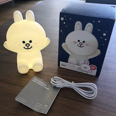 BNIB Good Quality Line friends CONY LED Touch Lamp Hug Me Character Cute