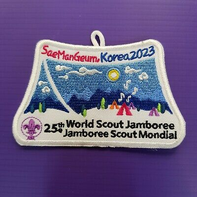 2023 World scout Jamboree Korea patch #1 // world scout jamboree 2019