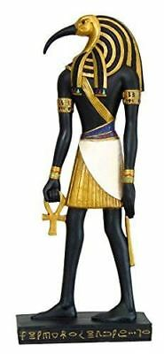"""Ancient Egyptian Hieroglyph Inspired Egyptian Thoth Collectible Figurine 10"""" Tal"""