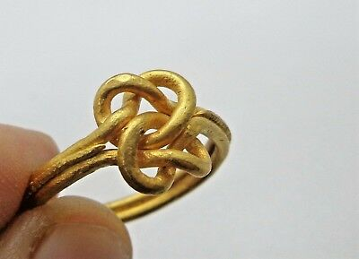 "Medieval period-BIg and Heavy Viking ring with ""Knot"" bezel.Circa 8th-10th C.AD"
