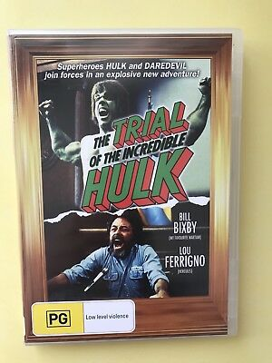 The Trial Of The Incredible Hulk Dvd /Movie Good Used Condition