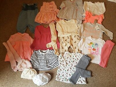 Baby Girls 3-6 months bundle next monsoon  Zara pet/smoke free home spring cc2