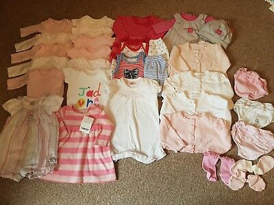 First Size Newborn Baby Girls Bundle Next Mothercare  cc1